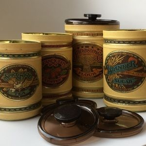 Other - Lincolnware ballonoff (USA) canisters vintage